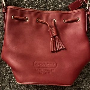 Coach Bags - Small Vintage Red Coach Bag
